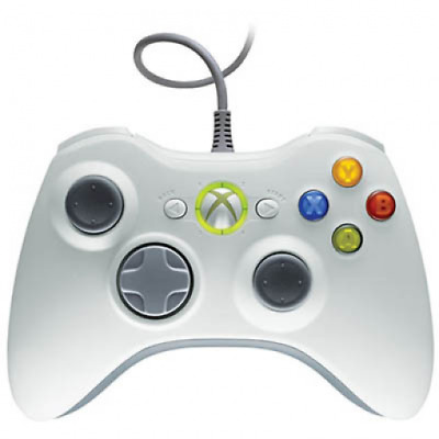 Xbox 360 - Original Wired Controller #weiß