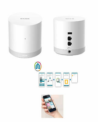 D-Link Mydlink DCH-G020 Connected Home Hub Setup control Monitor protect