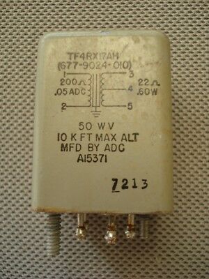 ADC TF4RX17AH Audio Impedance Output Transformer 200 to 22 ohm