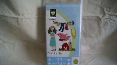 Cricut Cartridge - COUNTRY LIFE - Complete - BRAND NEW!  Never Opened