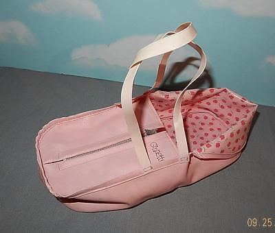 Vintage Original Vogue Baby Doll Ginnette Pink Baby Toter baby doll Carrier-