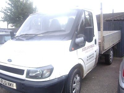Cheap Ford Transit Mk5 Pick Up /alloy Dropside Body Spare Repair Starts Drives