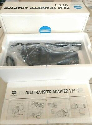 Vintage Minolta Film Transfer Adapter Kit VFT-1 Complete & Mint Condition