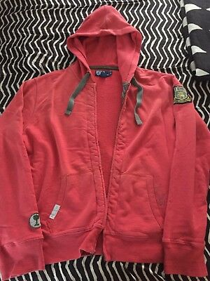 Polo Ralph Lauren Hoodie XL Vintage Rare 92 Indian Wing