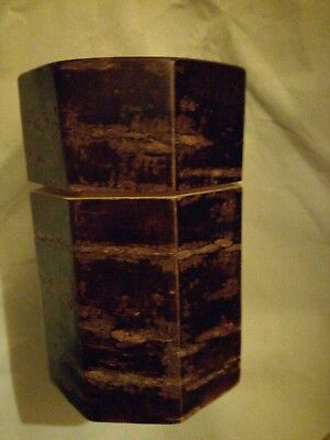 """tea caddy made in japan height ,4.5"""""""