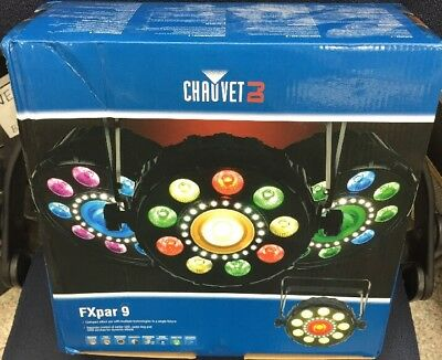 NEW In Box Chauvet DJ FXpar 9 Multi-Effect Fixture