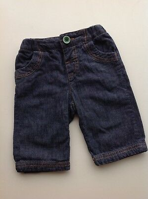 Joules cotton jersey-lined jeans trousers 0-3 months - FREE P&P! (1 of 2)