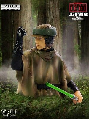 GENTLE GIANT Star Wars_LUKE SKYWALKER Endor Deluxe Mini Bust_Exclusive_# 759/774