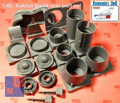 "1/48 Sukhoi Su-24 correct rear part set, by ""Complete ZIP"" 48006"