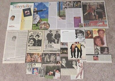 Julie Andrews (Mary Poppins; Sound of Music) Magazine Clippings