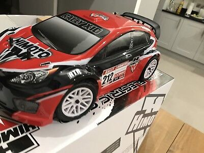 1 10 Brushless Rc Electric Rally Car