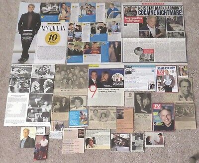 Mark Harmon (NCIS; Prince of Belair) Magazine Clippings