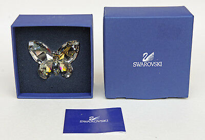 Swarovski Silver Shade Butterfly In Original Box 953 051  Appears Perfect