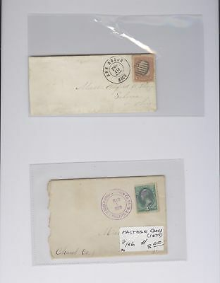 US - 2 Covers Lot # 187