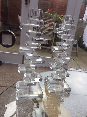 Galway Crystal (living) Candlestick Holders