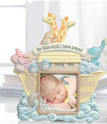 Grasslands Road Baby Noah's Ark Photo Frame For This Child I Have Prayed 470948