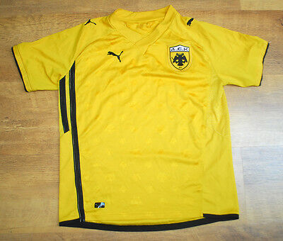 Puma AEK Athens 2010/2011 home shirt (For 12/13 year old)