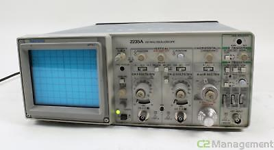 Tektronix 2235A 100Mhz 2 Channel Analog Oscilloscope see description