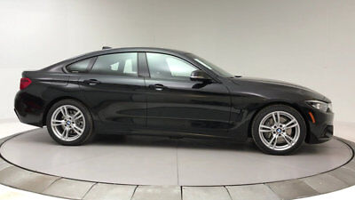 2018 BMW 4-Series 440i Gran Coupe 440i Gran Coupe 4 Series New 4 dr Automatic Gasoline 3.0L STRAIGHT 6 Cyl Black S