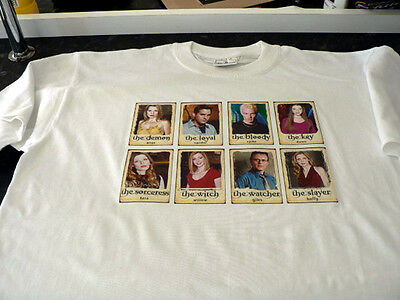 Buffy The Gang T/Shirt White Size M Gift Present LIMITED STOCK