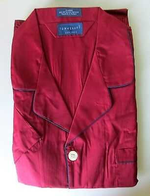Men's JCPenney's Towncraft Pajamas Short Sleeve/Long Bottom XL-New!
