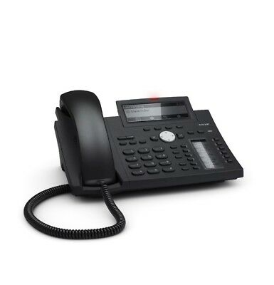 Snom D345 12 Account / 4 Line SIP / VoIP IP Phone (No PSU)
