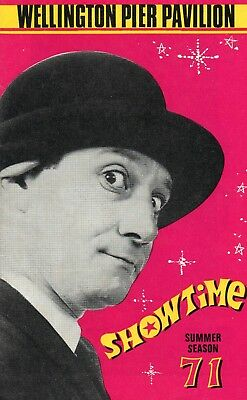 Great Yarmouth Wellington Pier 1971 'showtime' Freddie Davies Programme.