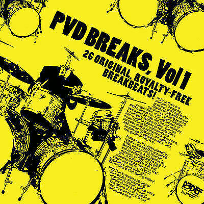 Pat Van Dyke Pvd Breaks, Vol. 1 New Vinyl