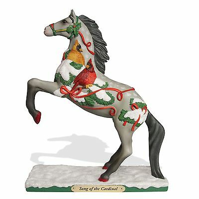 Enesco Christmas Trail of Painted Ponies Song of the Cardinal Figurine 4053771