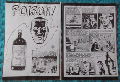 Johnny Craig Collection - EC Crime SuspenStories #3 - 8 Page Silver Print story