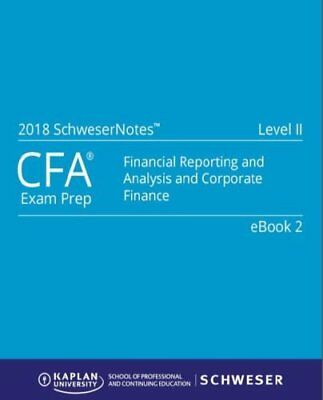 2018 Cfa Level 2 Study Notes Book + Bonus