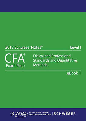 2018 Cfa Level 1 Study Notes Book + Bonus