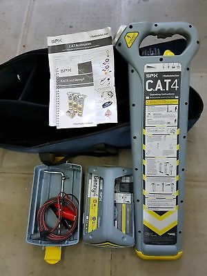 Radiodetection CAT4 and Genny4 Cable Avoidance Tool System pipe locator Kit