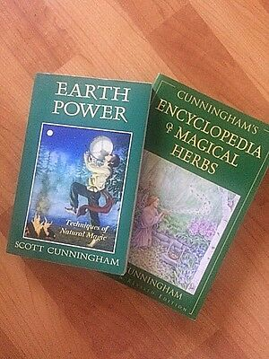Wiccan Earth Magick Book Lot Of 2