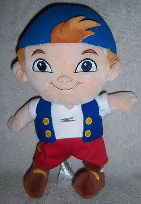 Disney Parks Jake and The Neverland Pirates CUBBY Plush 10""