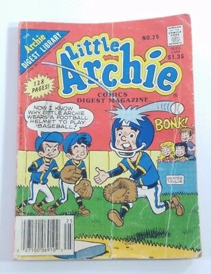 Little Archie Vintage Mini Comic Book No.25 FREE SHIPPING USA