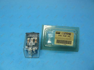 Dayton 5YP85 Plug In Relay 11 Pin 3PDT 10 Amp @ 120/240 VAC 24 VDC Coil New
