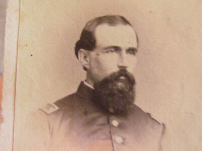 6th Wisconsin Infantry iron Brigade Surgeon Abraham Andrews cdv photograph