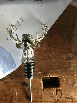 Jagermeister Metal Pourer Or Measure Metal Bottle Tin And Ice Moulds New