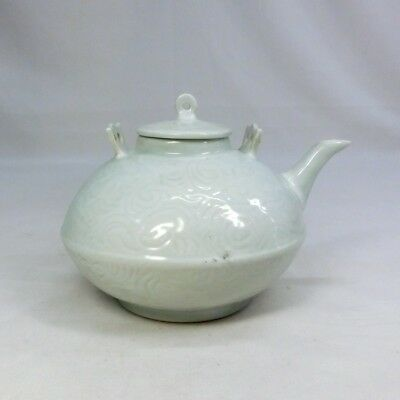 A445: Chinese pale porcelain ware water pot of traditional INCHIN style.