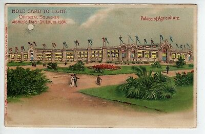 Hold-To-Light, 1904 St Louis World's Fair, Palace Of Agriculture