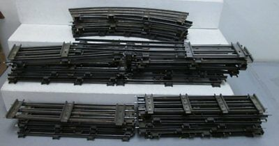 Ives & Misc Standard Gauge Straight & Curved Track Sections (25+)