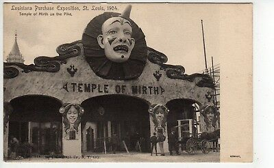 """Super """"Temple Of Mirth"""" (Final Days Of Construction), 1904 St Louis Worlds Fair"""