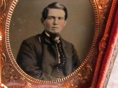 Civil War soldier tintype photograph