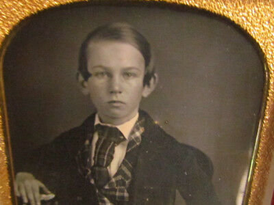 little boy daguerreotype photograph