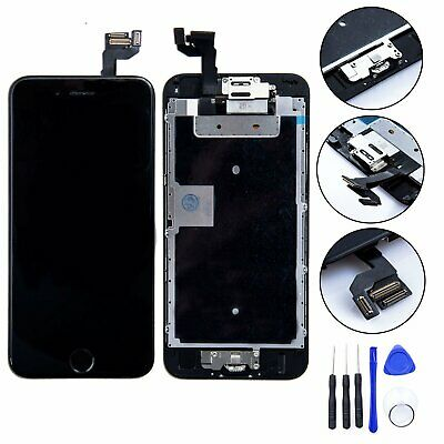 """Black iPhone 6S 4.7"""" LCD Touch Screen Digitizer Assembly with camera homebutton"""
