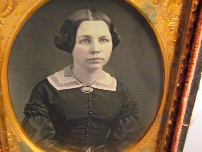 young victorian woman daguerreotype photograph