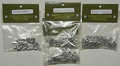SEALED Old Glory 15mm French WW2 Artillery Bundle