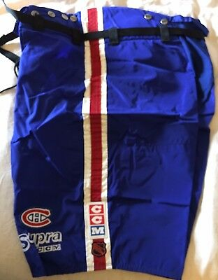 Montreal Canadiens Game Worn Hockey Pant Shell