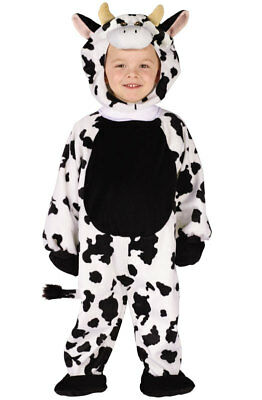 Brand New Cuddly Cow Animal Toddler Halloween Costume